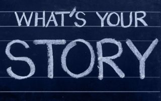 A jaký je váš příběh?